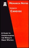 Voltaire's Candide (Monarch Notes)