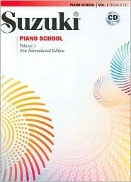 Suzuki Piano School- New International Edition- Book 1- (Book & CD) (Suzuki Method Core Materials)