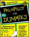 Palmpilot for Dummies [With Contains Demos, Shareware & Freeware...]