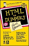 HTML for Dummies Quick Reference by Deborah S. Ray