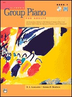 Alfred's Group Piano for Adults: Book 1