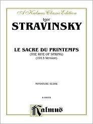 Ebook Le Sacre Du Printemps (the Rite of Spring): Miniature Score, Miniature Score by Igor Stravinsky DOC!
