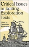 Critical Issues Editing Exploration Text