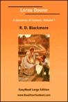 Lorna Doone A Romance of Exmoor, Volume I