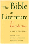 The Bible As Literature: An Introduction