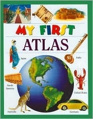 My First Atlas (My First Books (Board Books Dorling Kindersley))