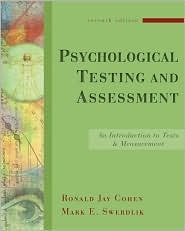 Psychological Testing and Assessment: An Introduction to