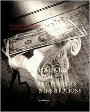 Financial Markets, Instruments, And Institutions