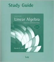 Student Study Guide Update for Linear Algebra and Its Applications , Update [With CDROM]