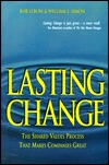 Lasting Change by Rob Lebow