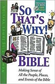 Holy Bible: King James Version - So That's Why - Bible