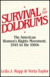 Survival In The Doldrums: The American Women's Rights Movement, 1945 To The 1960s