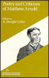 Poetry And Criticism Of Matthew Arnold