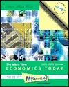 Economics Today: The Micro View, 2001-2002 Myeconlab Edition