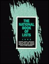 The National Book of Lists, 1992
