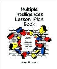 Multiple Intelligences Lesson Plan Book