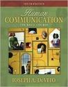 Human Communication: The Basic Course