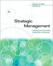 Strategic Management: Building and Sustaining Competitive Advantage