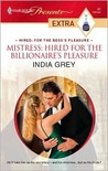 Mistress: Hired for the Billionaire's Pleasure