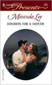 Mistress for a Month(Three Rich Men 2)