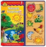 Nature's Surprises Peg puzzle Book