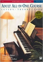 Alfred's Basic Adult Piano Course, All-In-One, Level 2 w/CD [STUDENT EDITION] (Alfred's Basic Adult Piano Course)