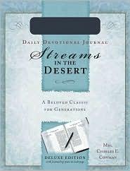 Streams in the Desert Daily Devotional Journal