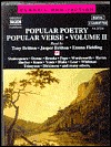 Popular Poetry Popular Verse