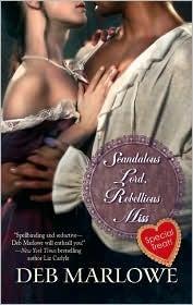 Scandalous Lord, Rebellious Miss