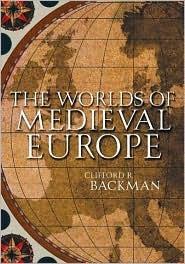 backman wrlds of medieval europe 3e p