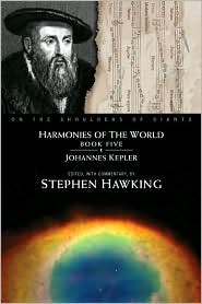 Harmonies of the world, book five (on the shoulders of giants series) par Johannes Kepler