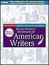 Merriam Webster's Dictionary of American Writers by Anonymous