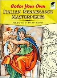 Color Your Own Italian Renaissance Masterpieces