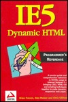 Ie5 Dynamic HTML Programmer's Reference