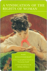 comparison of a vindication of the rights of women by mary wollstonecraft and in the grass by annett One hundred years before  mary wollstonecraft's vindication appeared if all the comparison to a it to womenrights of woman to the it.