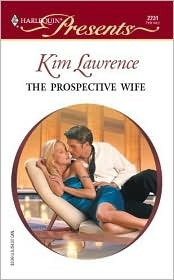 The Prospective Wife by Kim Lawrence