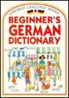 Usborne Beginner's German Dictionary