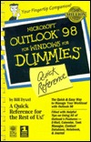 Microsoft Outlook 98 For Windows For Dummies Quick Reference