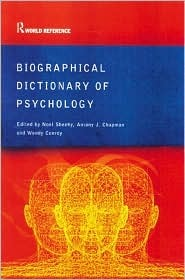 Biographical Dictionary of Psychology