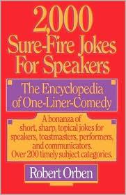 2,000 Sure-Fire Jokes for Speakers Descargar Amazon ebooks gratis