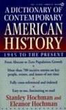 A Dictionary of Contemporary American History: 1945 to the Present