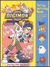 Digimon: Journey Into DigiWorld Tattoo Activity Book