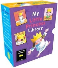 My Little Princess Library (slipcase + 8 mini hardcovers): 1-c each of I WANT MY POTTY, I WANT MY DINNER, I WANT MY TOOTH, I WANT TO GO TO BED, I WANT MY MUM, I WANT TO GO HOME, I WANT MY LIGHT ON, I WANT TWO BIRTHDAYS