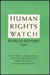 Human Rights Watch World Report, 1992: Events of 1991