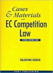 Cases and Materials on EC Competition Law 2nd Ed 2001