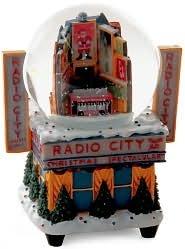 Radio City Times Square Globe 80MM Snowglobe