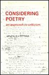 Considering Poetry (New School)