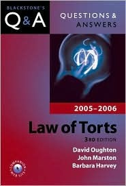 Questions & Answers: Law of Torts 2005-2006