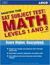 Master SAT Subject Test:  Math Levels 1 and 2