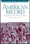 The American Record by William Graebner